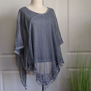 53619f0b9e7 SALE $14 Simply Couture Lace Layered Tunic Top
